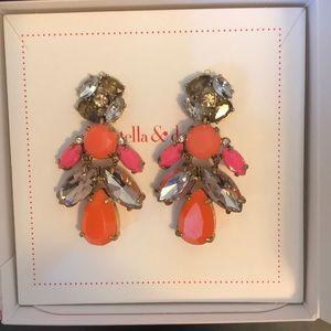 Stella & Dot poo geo earring